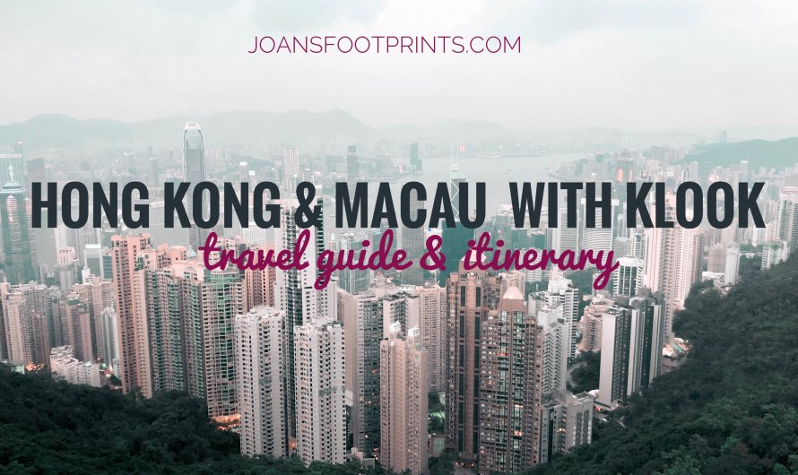 2020 HONG KONG AND MACAU DIY GUIDE: BUDGET & ITINERARY