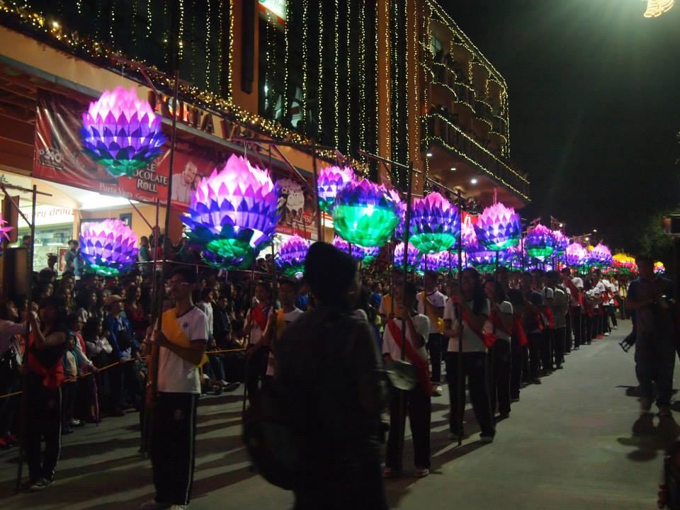 SLU lantern parade