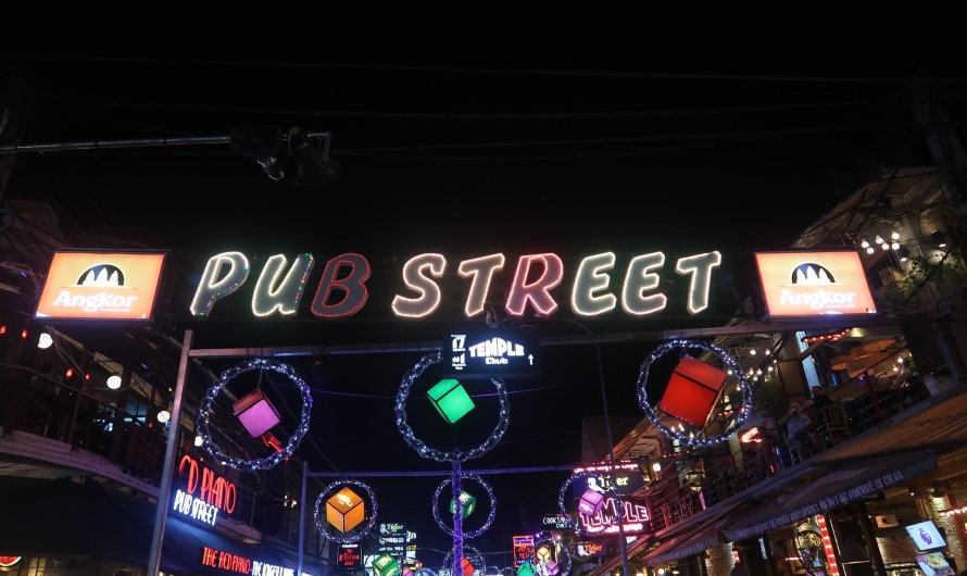 Pub Street and Night Market in Siem Reap