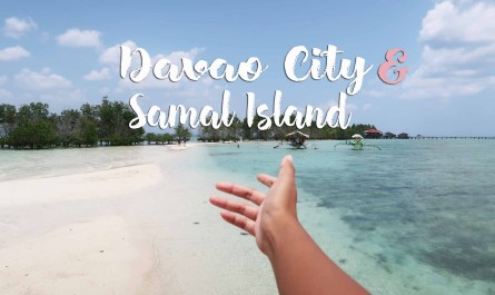davao city and samal island