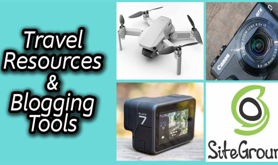 Travel Resources: My Travel Gadgets & Blogging Tools