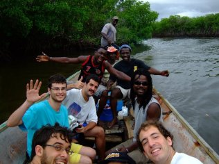 Canoa hang (August 2011, Senegal)
