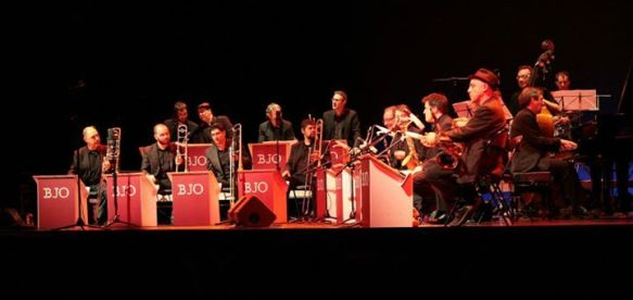 Barcelona Jazz Orquestra - Teatre La Faràndula, Sabadell (Catalonia) 25.01.13