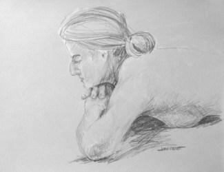 Female, Contemplation