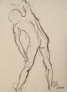 Male Gesture, Back
