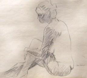 Seated Female Gesture