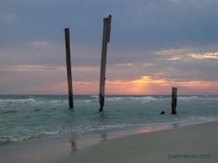 Photograph of Sunset at Camp Helen State Park, Florida