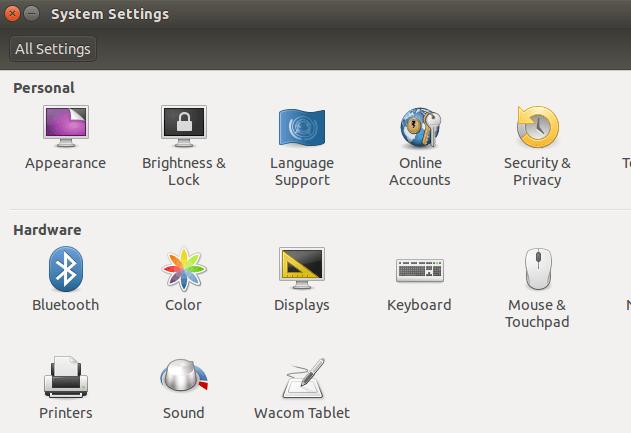 Disabling the screensaver on Ubuntu 14 04 (caffeine)