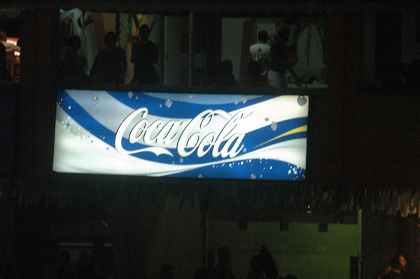 Coca-Cola azul
