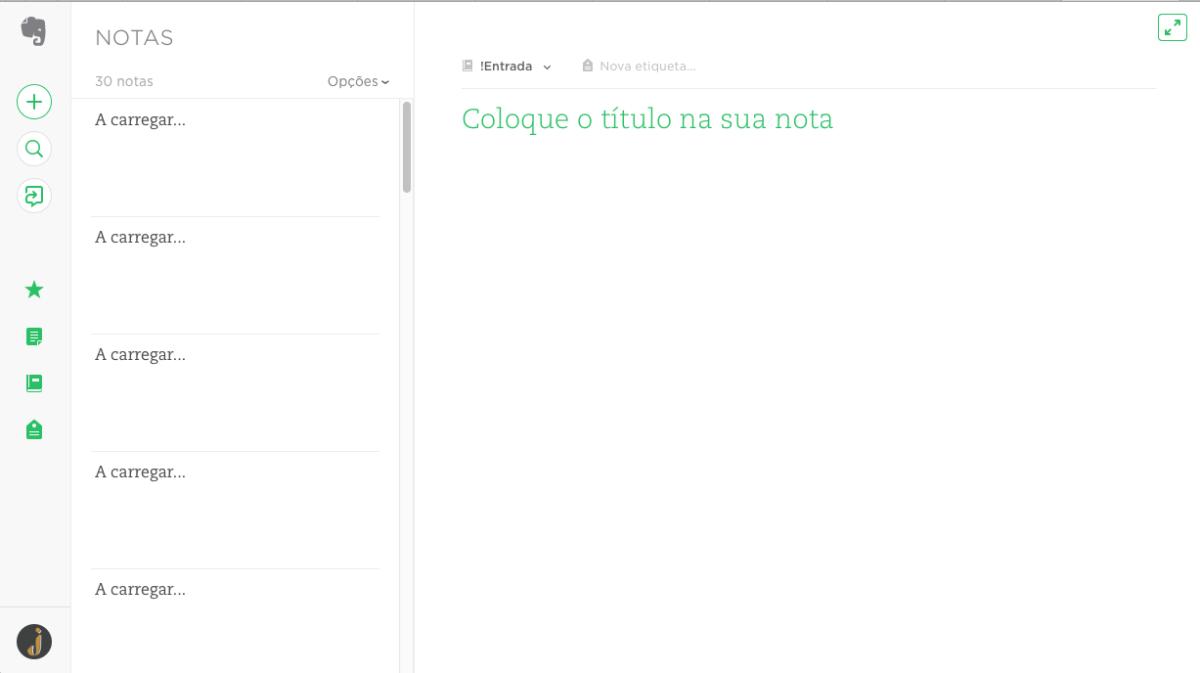 aplicativos de escrita-evernote