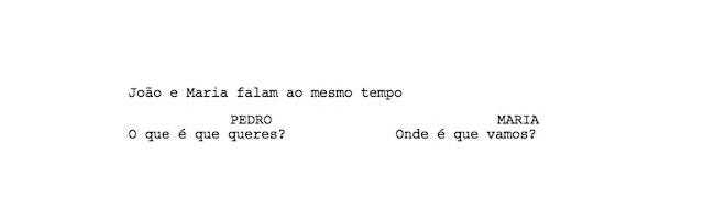 dual dialogue