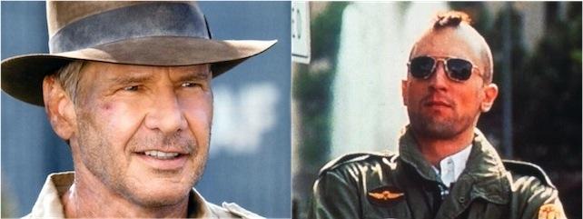 Indiana Jones e Travis Bickle