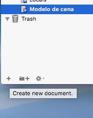 Criando um novo documento