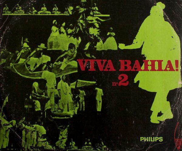 Capa do LP Viva a Bahia – Gravadora Philips
