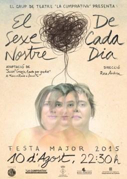 """Theatrical Poster """"El Sexe Nostre de Cada Dia"""""""