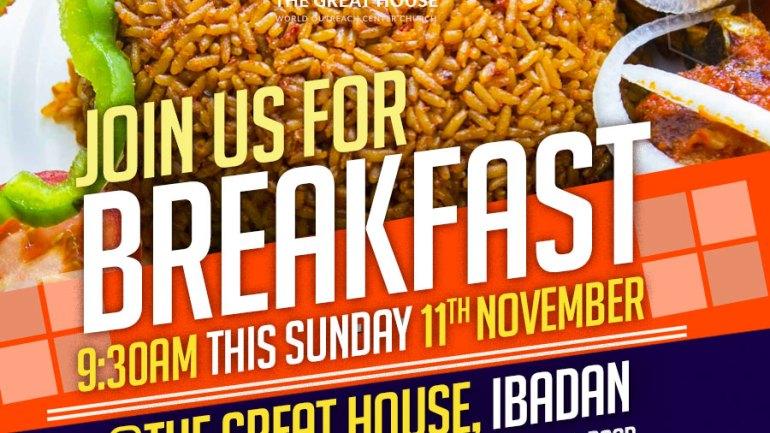 Breakfast Sunday Service