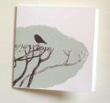 Bird on hedge card, © Podpress