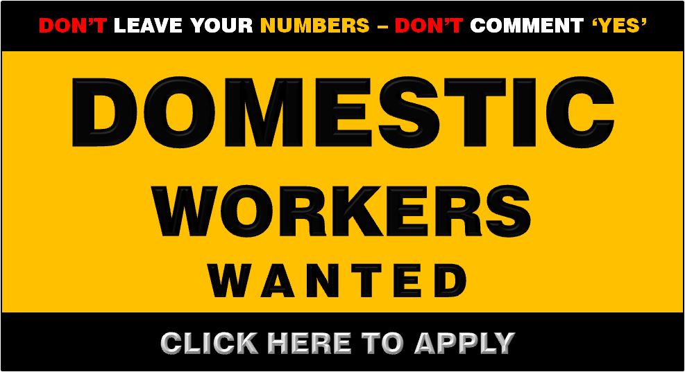 DOMESTIC MAIDS GAUTENG