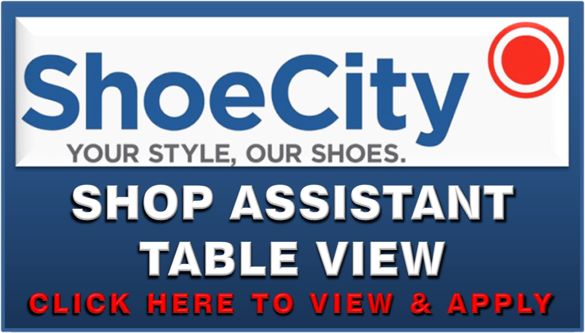 SHOE CITY TABLE VIEW