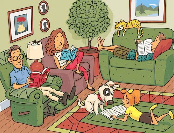 CAN YOU FIND ALL 6 HIDDEN WORDS IN THIS PICTURE?