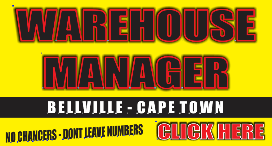 WAREHOUSE MANAGER BELLVILLE