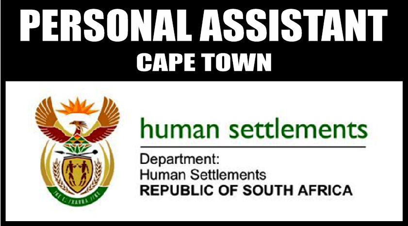 PERSONAL ASSISTANT, OFFICE OF THE CHIEF DIRECTOR: MANAGEMENT SUPPORT SERVICES