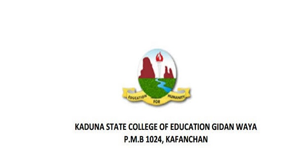 Kaduna State College Of Education Recruitment 2019