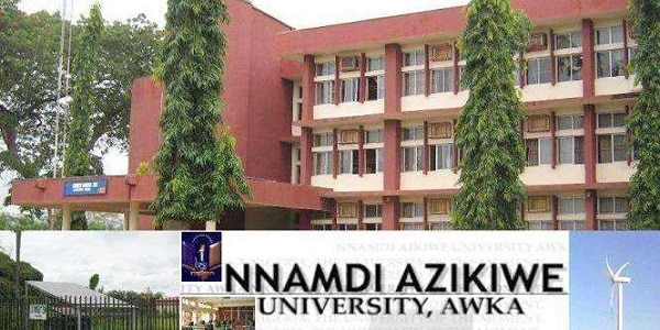 Nnamdi Azikiwe University Awka, UNIZIK Courses / Departments