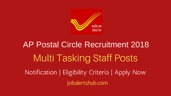 AP Postal Circle 2018 Multi Tasking Staff Recruitment – 94 Vacancies | 10th/ITI | Apply Now