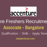 Accenture Bangalore Associate Freshers Jobs 2018 | Graduate | Apply Now