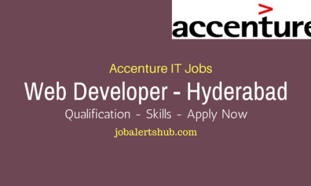 Accenture Recruitment 2017 | Web Developer | Graduate | Apply Now