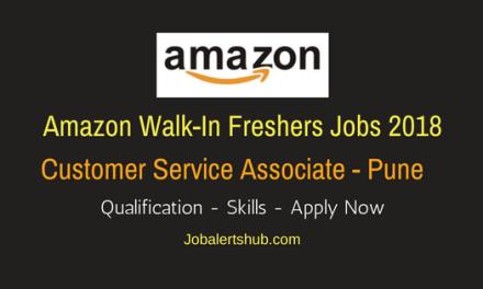 Amazon Freshers Customer Service Associate 2018 Vacancies | Pune | 10 + 2, Degree/PG | Walkin