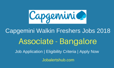 Capgemini Ltd 2018 Technical Support Freshers Jobs Bangalore | Graduation,PG | Walkin: 5th June 2018