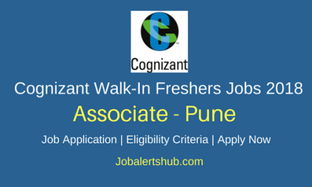 Cognizant Freshers Process Executive 2018 Vacancies | Graduation | Pune | Walk-In: 16th June'18