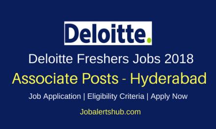 Delloite Graduates Vacancies