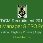 Forest Development Corporation of Maharashtra Limited FDCM Asst Manager & FRO 2018 – 39 Vacancies | Graduation | Apply Now