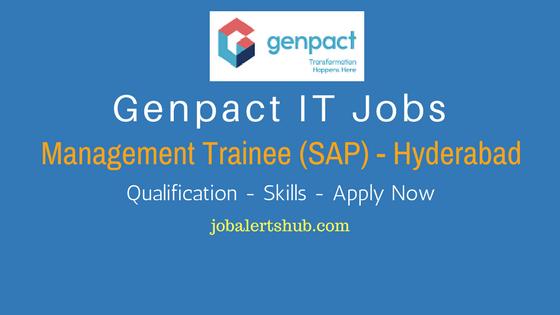 Genpact Recruitment 2017 | Management Trainee | Graduate | Apply Now