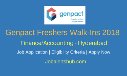 Genpact Recruitment 2018 | Finance/Accounting/ Procurement Posts | Graduation | Hyderabad | Apply Now