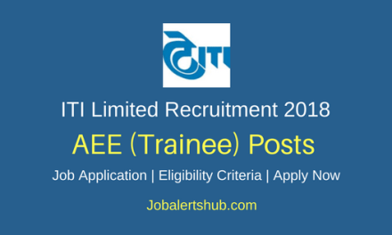 ITI Limited 2018 Asst Executive Engineer Trainee & Contract Engineer Posts – 16 Vacancies | B.Tech | Apply Now