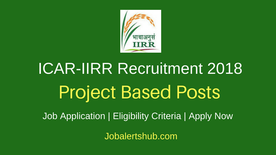 ICAR – Indian Institute of Rice Research 2018 SRF, JRF, Skilled Helper/ Field Assistant/ Lab Assistant, Technical Assistant Posts – 16 Vacancies | Diploma, Any Degree, PG, Ph.D | Walkin