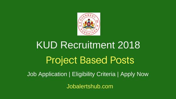Karnatak University Dharwad (KUD) 2018 Recruitment Project Assistant Posts | M.Sc | Apply Now