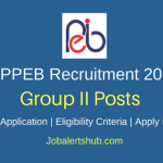 MPPEB Group II (Sub Group 3) 2018 – 219 Vacancies | Graduation | Apply Now