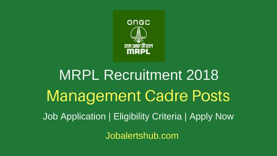 MRPL 2018 Supervisor, Engineer, Executive Posts – 17 Vacancies | Degree/PG | Apply Now