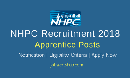 NHPC 2018 Trade & Graduate Apprentice Posts – 06 Vacancies   ITI, B.Tech   Apply Now