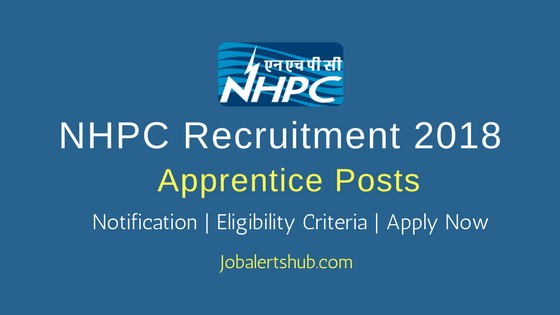 NHPC 2018 Trade & Graduate Apprentice Posts – 06 Vacancies | ITI, B.Tech | Apply Now