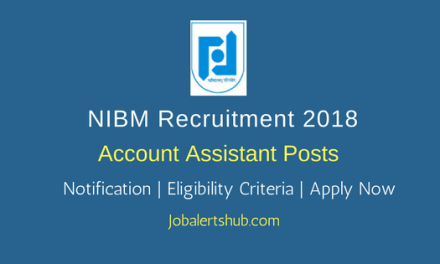 NIBM Account Assistant Posts | B.Com | Pune | Apply Now
