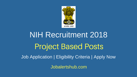 National Institute of Hydrology (NIH) Roorkee 2018 Recruitment Dy Project Leader, Domain Expert, Specialist Posts – 06 Vacancies | M.Tech, Ph.D, PG | Walkin