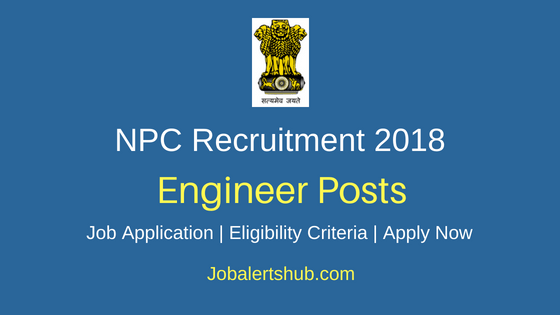 National Productivity Council (NPC) Hyderabad 2018 Recruitment Project Engineer & Filed Engineer Posts – 03 Vacancies | Diploma, B.Tech | Apply Now