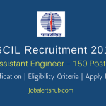 PGCIL Recruitment 2018 | Assistant Engineer – 150 Posts | BE/ B.Tech/ B.Sc (Engg) | Apply Now @ powergrid.in