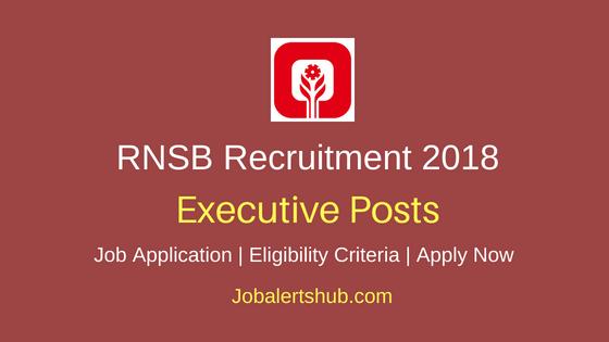 Rajkot Nagarik Sahakari Bank Ltd (RNSB) 2018 Jr. Executive/ Sr. Executive Posts   Any Degree/ PG   Apply Now